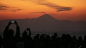 ηλιοβασίλεμα στο Τόκιο