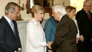 Μαριάννα Β. Βαρδινογιάννη και Προκόπης Παυλόπουλος