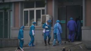 γιατροί -νέος κοροναϊός Κίνα
