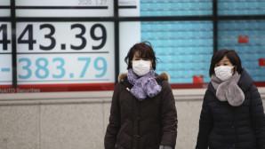 Ιαπωνέζες με μάσκες