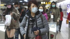 Ασιάτες με μάσκες στην Ταϊβάν