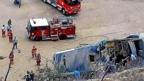 Δυστύχημα με λεωφορείο στο Περού