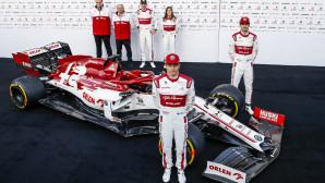 Alfa Romeo Racing μονοθέσιο Βαρκελώνη