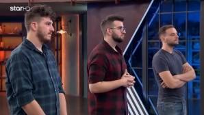 Οι τρεις αρχηγοί της ομαδικής δοκιμασίας