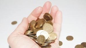 Κέρματα σε χέρι