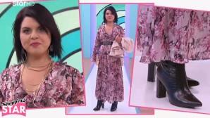Η Νίνα στο shopping star