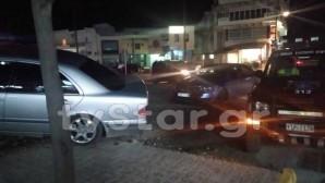 Αλιβέρι: Αυτοκίνητα Συγκρούστηκαν Και Έπεσαν Πάνω Σε 4 Παιδιά