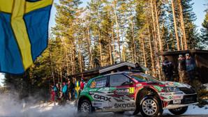 SKODA WRC3  Ράλι ΣουηδίαςSKODA Fabia Rally2 evo