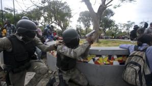 Επεισόδια σε διαδήλωση αστυνομικών στην Αϊτή