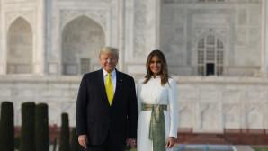 Ινδία: Επίσκεψη Ντόναλντ και Μελάνια Τραμπ