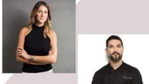 Ο Π. Ιωαννίδης και η Α. Κανδαράκη
