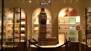 Big Ben από σοκολάτα στο Λονδίνο