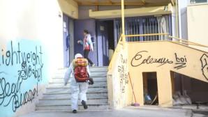 απολύμανση σε σχολείο της Θεσσαλονίκης