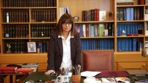 Η Αικατερίνη Σακελλαροπούλου