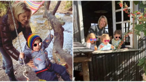 Η Καγιά με τα παιδιά της στην Παύλιανη Φθιώτιδας