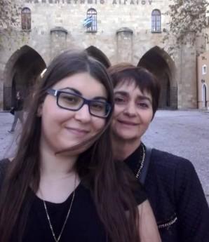 Ελένη Τοπαλούδη με τη μητέρα της