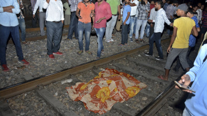 Ινδία τρένο