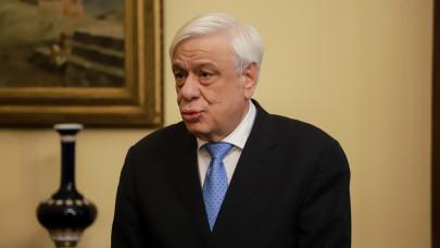 O Προκόπης Παυλόπουλος στο Προεδρικό Μέγαρο