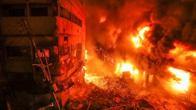 Φωτιά σε συνοικία του Μπανγκλαντές