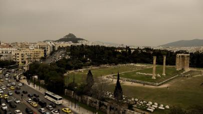 αφρικανική σκόνη στην Αθήνα