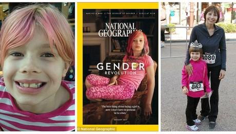 9χρονη τρανσέξουαλ στο εξώφυλλο του National Geographic