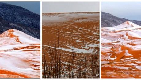 Χιόνισε στη Σαχάρα μετά από 37 χρόνια