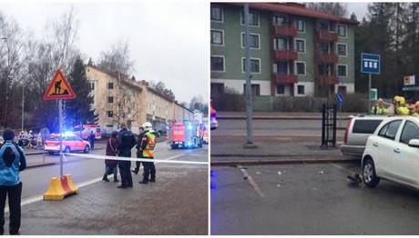Αυτοκίνητο έπεσε πάνω σε κόσμο στο Ελσίνκι