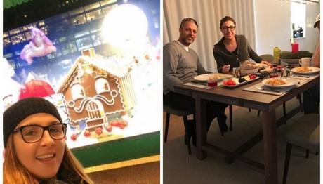 Χριστούγεννα στη Σουηδία για την Παπαρίζου