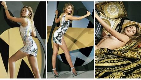 Τζίτζι Χαντίντ: Το μοντέλο της χρονιάς-Έκανε ΓΥΜΝΗ φωτογράφηση για τον Versace