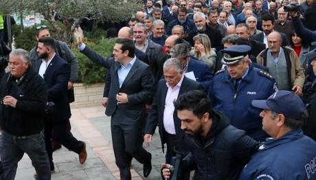 Μήνυμα Τσίπρα στους δανειστές από την Κρήτη