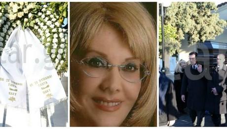 """ΦΩΤΟΡΕΠΟΡΤΑΖ star.gr: Το τελευταίο αντίο στην Κέλλυ Σακάκου που """"έσβησε"""" 6 μήνες μετά το θάνατο του συζύγου της"""