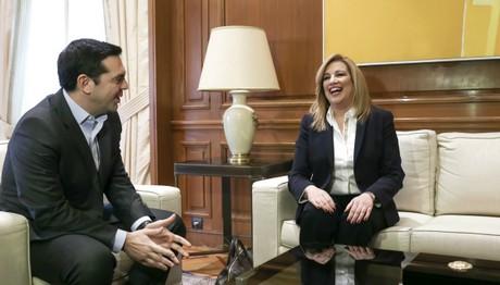 Φώφη Γεννηματά: «Για το Κυπριακό υπάρχει εθνική γραμμή»