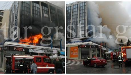 ΣΥΝΑΓΕΡΜΟΣ στην Πυροσβεστική! Φωτιά σε πολυκατοικία στο Γαλάτσι