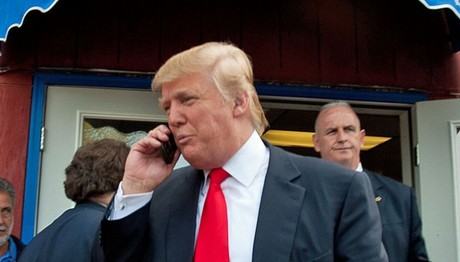 Ο Ντόναλντ Τραμπ κινδυνεύει από το… ΚΙΝΗΤΟ του!