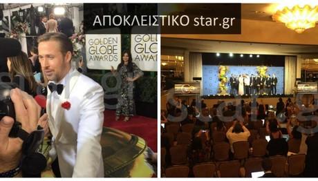 Απευθείας από τις Χρυσές Σφαίρες στον φακό του star.gr ο