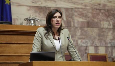 Ζωή Κωνσταντοπούλου: Η κυβέρνηση με παρουσίαζε σαν ψυχοπαθή!