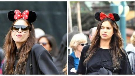 Ιρίνα Σάικ: Στην Disneyland λίγο πριν γίνει μητέρα- ΔΕΙΤΕ πόσο έχει φουσκώσει