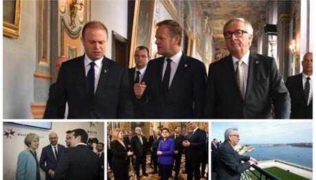 Η Σύνοδος Κορυφής σε 29 καρέ: Οι κυρίες με τα… χρωματιστά ταγέρ, το παλάτι του Μαγίστρου και τα πηγαδάκια