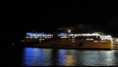 Αποκαταστάθηκε η βλάβη στο πλοίο «Πρέβελης» που παρουσίασ