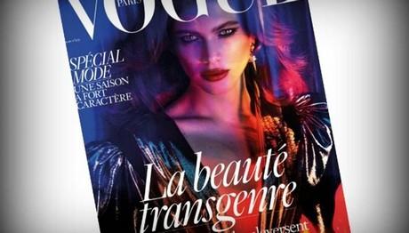 ΠΡΩΤΗ ΦΟΡΑ: Τρανσέξουαλ σε εξώφυλλο της γαλλικής Vogue!