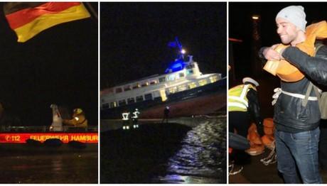 Το πλοίο προσάραξε και οι επιβάτες συνέχισαν να παρτάρουν