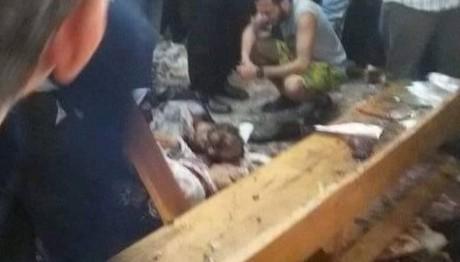 Η στιγμή της έκρηξης στην εκκλησία των Κοπτών στην Αίγυπτ