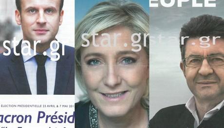 Αποκλειστικά στο star.gr οι αφίσες και τα ψηφοδέλτια των γαλλικών προεδρικών εκλογών