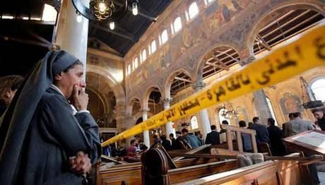 Έκρηξη σε κοπτική εκκλησία στην Αίγυπτο