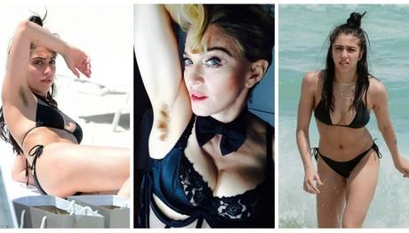 Like mother, like daughter:Η 20χρονη κόρη της Μαντόνα με αξύριστη μασχάλη στην παραλία