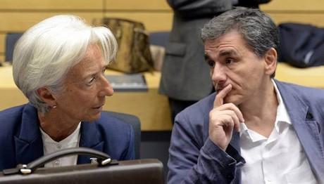 Χρέος και επιστροφή θεσμών στο μενού της συνάντησης Λαγκάρντ - Τσακαλώτου