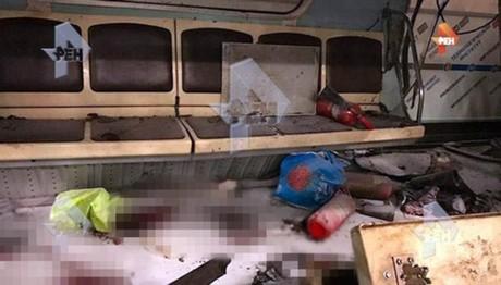 Βρέθηκαν ΜΕΛΗ βομβιστή της Αγίας Πετρούπολης σε βαγόνι