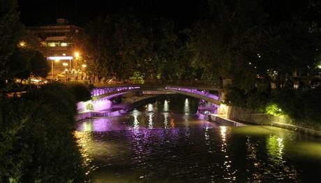 Έγινε ΜΩΒ η γέφυρα του Ληθαίου Ποταμού στα Τρίκαλα