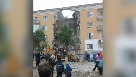 ΕΚΡΗΞΗ σε κτίριο στη Ρωσία!