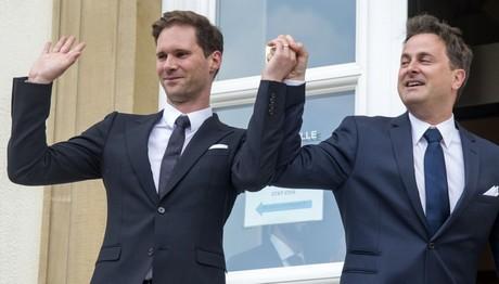 Τη δεύτερη επέτειο γάμου με τον καλό του γιόρτασε ο πρωθυπουργός του Λουξεμβούργου